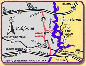 Map Of Arizona Casinos.Havasu Landing Resort Casino